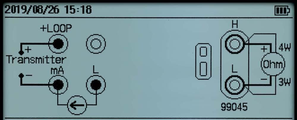 Wiring information display function