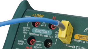 Thermocouple generation using TC Mini Plug
