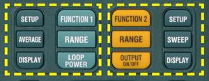 Operation key layout